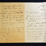 Signed Sir Douglas Mawson Letters